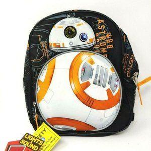 Star Wars BB-8 10″ Mini Backpack School Book Bag
